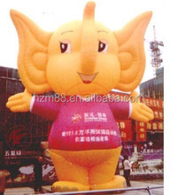 Any Size Advertising Inflatable Cartoon Model Inflatable Elephant Costume For Promotion For Sale