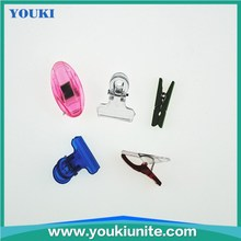 different type of plastic spring clip