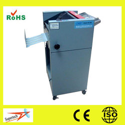Suitable paper size A3 or A4 automatic folding machine with CE