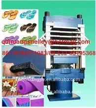 rubber eva foam slippers vulcanizing machinery