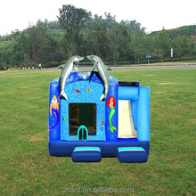 classical inflatable combo water slide