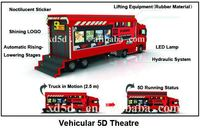 Game machine Hot Sale 3d 4d 5d 6d 7d Simulator Motion Truck Mobile 5d Theater 5d Cinema