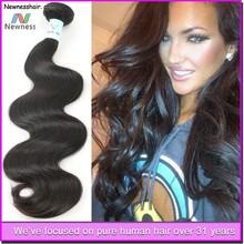 virgin remy tangle free shedding free dropship hair