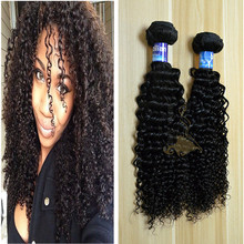 Fashionable Beauty kinky curly Afro hair weave for African black womens afro kinky curly virgin hair