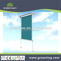 Aluminum Vertical Blind with stainless steel guide rail