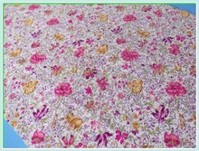 In stock wholesale 100% cotton printed fabric for nightwear