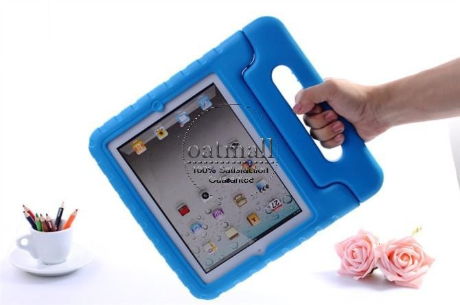 New Drop Shock Proof EVA Smart Cover For Apple iPad MINI Cases Kids Children Safe Silicon for iPad mini 3 2 1 Protective Cases