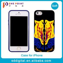 OEM available personalized tiger pattern cell phone case for iphone