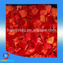 2015 Chinese New Crop Iqf Frozen Red Pepper (dice/cube/slice(stripe)/whole)