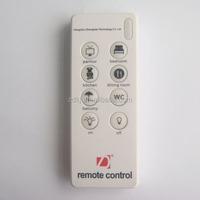 wireless remote control 8 ch white remocon