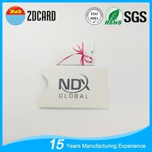 High quality free sample magnetic card sleeves for prevent info security