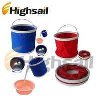 Portable collapsible water bucket
