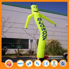 Car washing waving man with custom logo printing inflatable air dancer blower