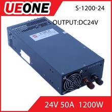 1200W constant voltage power supply high switching power supply 24v 50a