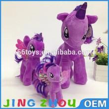plush mini real doll,big eyes plush unicorn toy,plush unicorn
