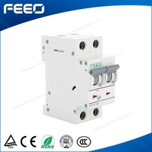 Hot sell FE7-63 50HZ-60HZ 2 pole 250V/420V 1A 3A 6A 10A 16A 20A 25A 32A 40A 50A 63A MCB mini circuit breaker