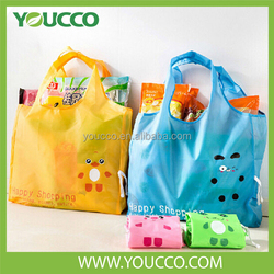 China supplier cheap recycle Foldable Shopping Nylon bag Carry bag