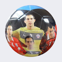 PVC/PU official size 5 promotional machine stitched football