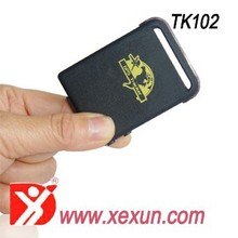 free tracking software mini real time gsm/gprs/gps tracker tk102 low battery alert