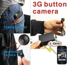 Real-time super zoom hidden camera 3G button camera