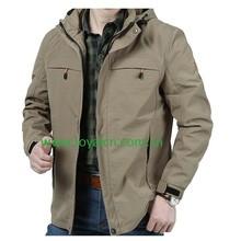 winter waterproof breathable men outdoor jacket waterproof