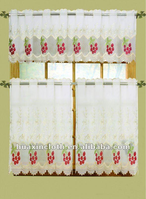 Fabric kitchen curtains designer kitchen curtains unique for Como hacer cortinas de cocina