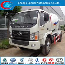 Foton 4*2 3 cubic meters concrete mixer truck