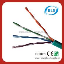 China Shenzhen Factory 305M CAT5e ETHERNET NETWORK LAN RJ45 CABLE UTP CAT5E Box Roll