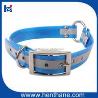 Custom Center Ring Reflective TPU Safety Dog Collars