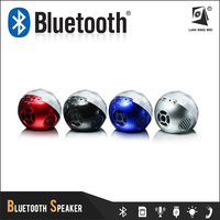 q8 Portable bluetooth speaker mini with fm radio tf card flash led light and remote control Crystal ball Q8