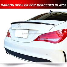 FIT FOR Mercedes Benz W117 C117 Sedan CLA-Class AMG Type Carbon Fiber Rear Trunk Spoiler (Fits: Mercedes-Benz CLA250)