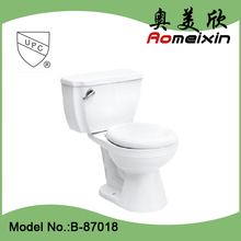 HOT Sale item ceramic siphonic 2 piece bathroom toilet. wc toilet bowl . water closet in US market