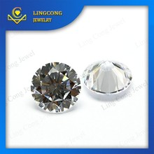 good price machine cut AAA white color natural topaz gemstone