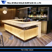 Luxury Restaurant Bar Counters For Sale Dining Room Bar Counter Food Service Stainless Bar Counter Top