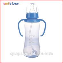 jinhua de color azul con el mango de bpa gratis para adultos bebé biberón