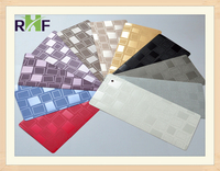 Embossed PVC HPL/Wall Cladding/Furniture decoration board/Kitchentop panel