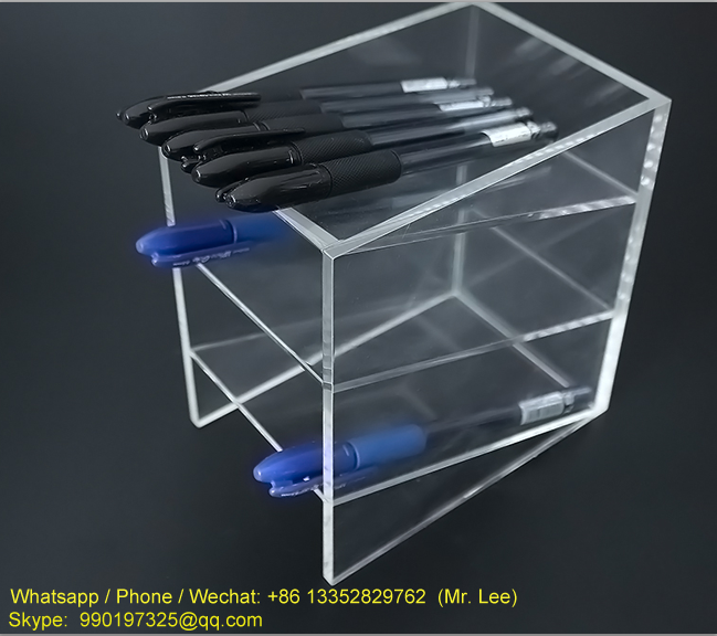 Cheap 3 tiers clear acrylic pencil display case (1).png