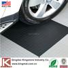 Black round coin rubber sheet