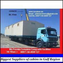 We establishing Prefab Camps and single sale of Prefab Houses