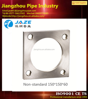 Square Handrail Floor Forged Flange