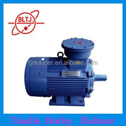 China Tianjin manufacture energy saving three-phase asynchronous Explosion proof motor