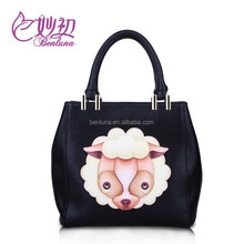 Benluna #3092 Fashion Women handbag pu leather bags guangzhou manufacturer,supplier for printed pu handbag
