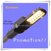 Super Cheap!! LED 12W Aluminium IP65 Solar Plat Street Light