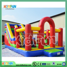 large inflatable fun city playground