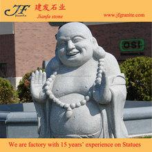 Belle naturel grand rire Statues de bouddha jardin