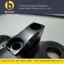 black anodizing aluminum precision machining service for spare parts
