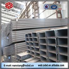 alloy mild iron black tangshan u channel steel