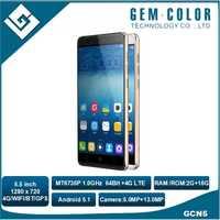 Dual SIM Mobile Phone MTK6735P 5.0 Inch Cheap Big Screen Android 5.1 4G Smart Phone