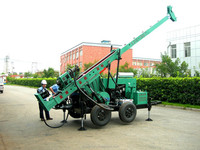 Surface ground core drilling machine , Model No. YGK-300/500/200 Portable Drilling Rig