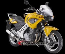 EFI 12V Racing 250cc Automatic Motorcycle(YY250-5A)